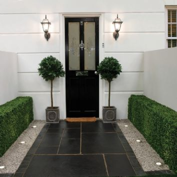 Pavestone Paving-Limestone-Black Kadapha-PAVING SLABS, SINGLE SIZE OPTIONS