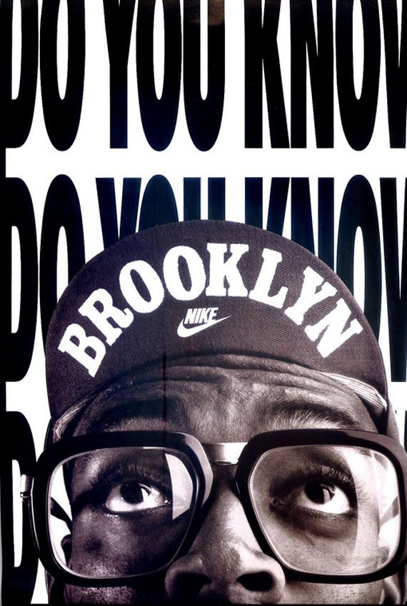 This is an old Air Jordan advertisement. I always thought the entire campaign with Spike Lee was real creative.
