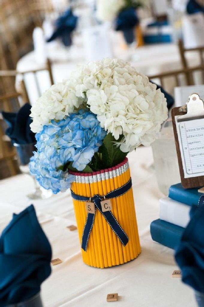 Diy Graduation Party Pencil Vase Kindergarten Graduation