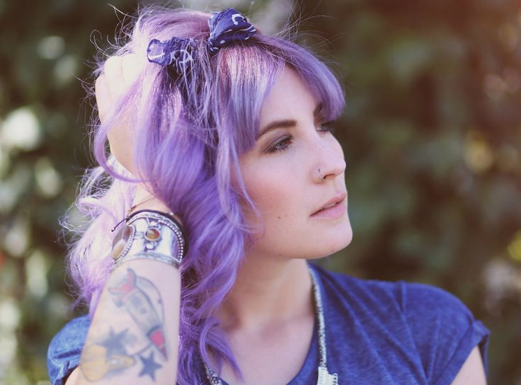 Purple Hair, Directions Lavender, Colorful Hair, Violet Hair, Crazy Hair Colors, Directions Violet