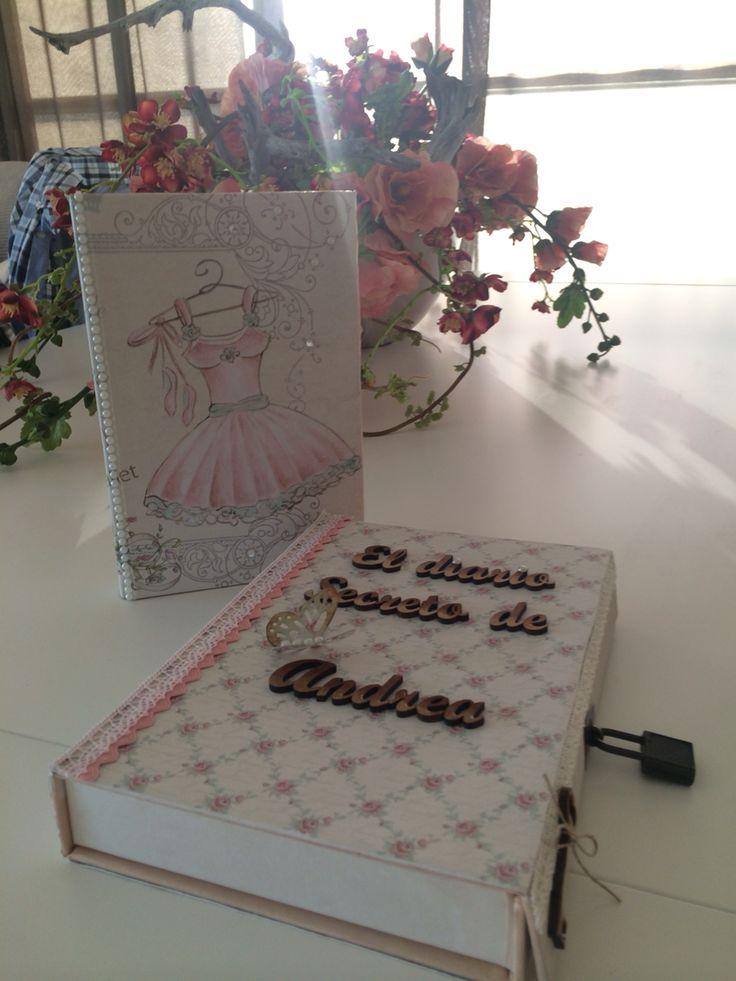 Adrea's secret diary. Scrapbook and decoupage