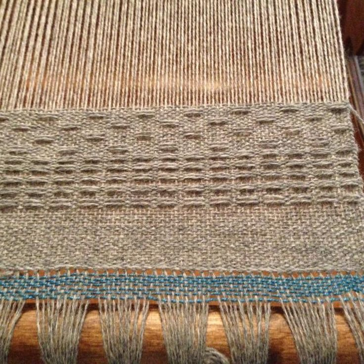 FLOAT WEAVE: the distance a yarn covers