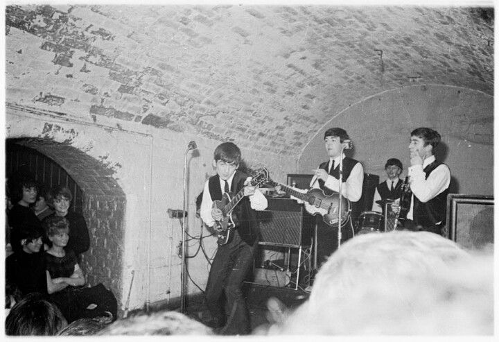 The Beatles, The Cavern Club, Liverpool, Englad.