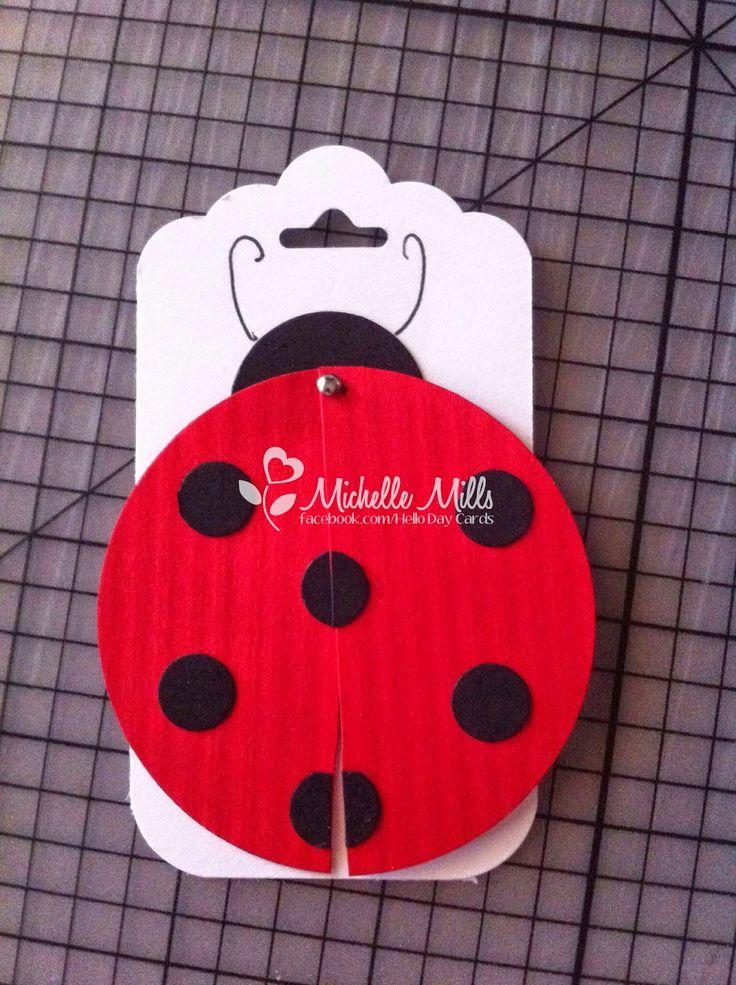 Michelle Mills - Stampin Up demonstrator Brisbane, Australia: Lady Bugs