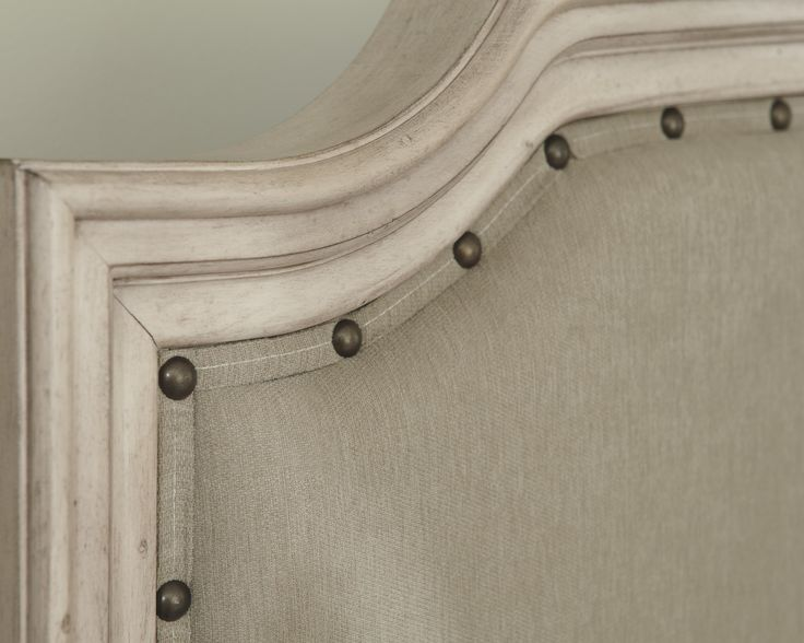 Ashley Furniture   Demarlos King Upholstered Panel Bed