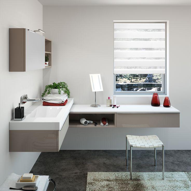 meubles de salle de bain cedam gamme extenso sur mesure - Salle De Bain Design 2015