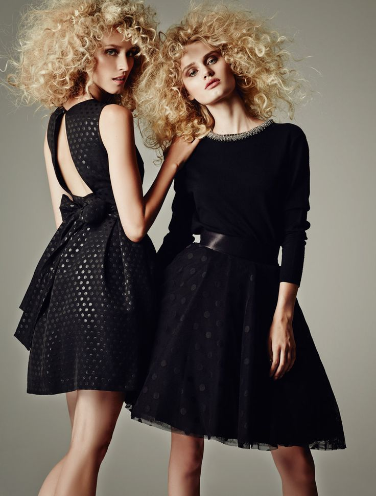 GIRLY BLACK DRESSES _WINTER 2014 2015