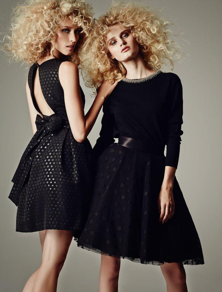 GIRLY BLACK DRESSES _WINTER 2014 2015