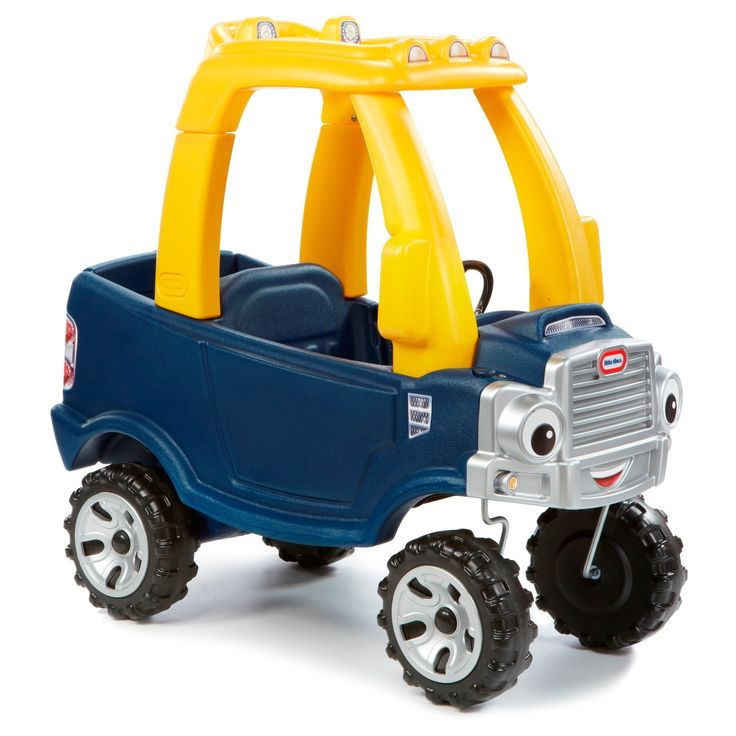 Cozy Truck combines the durability of Little Tikes and the fun of our Cozy Coupe. This truck-styled riding toy is ideal for toddlers and preschoolers. The foot-to-floor format is easy to start and stop. Use it indoors or out. Kids will love the working door and tailgate for imaginative play.<br><br>Product Description: <br>• Built in grip handle on roof for parent transportation. Includes floor board to protect little ones' feet. <br>• Removable f...
