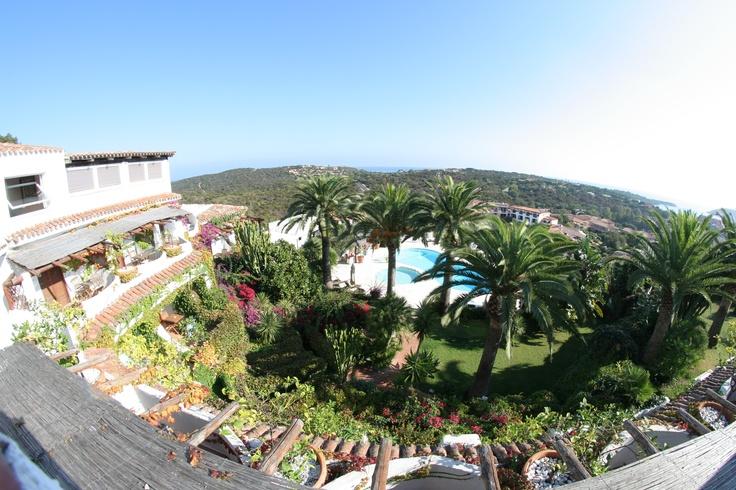 Panoramic View - Hotel Balocco - Porto Cervo