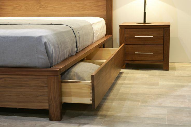 Addison 4-drawer storage bed. @Home & Garden Events #NationalHomeShow