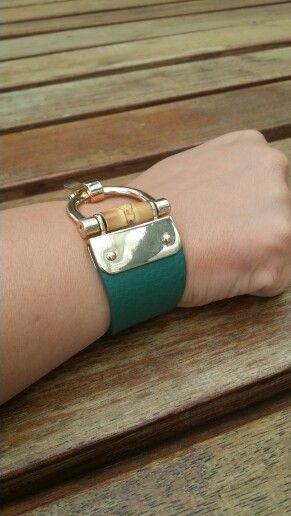 Leather Bracelet by La Votre Exclusively Yours!