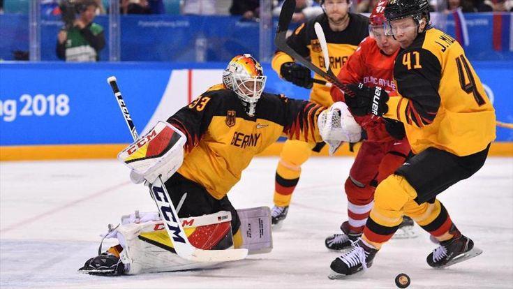 """Deutschland verliert das Eishockey-Finale bei Olympia 3:4 nach Verlängerung gegen die """"Olympischen Athleten aus Russland""""."""