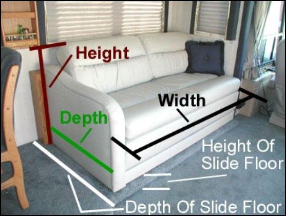 Rv sofa Bed Mattress