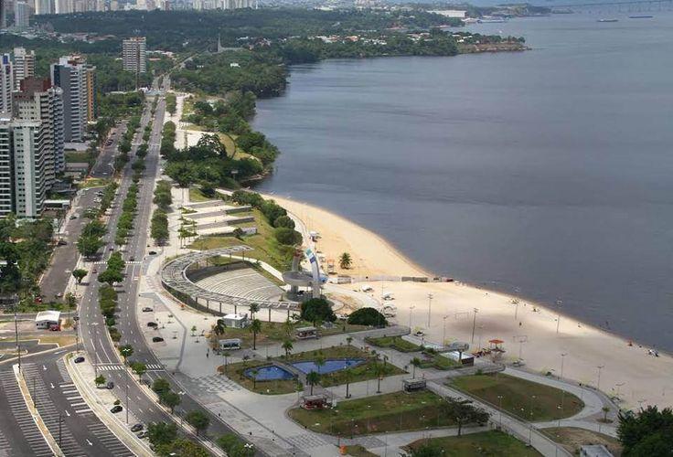 Praia Ponta Negra, Manaus