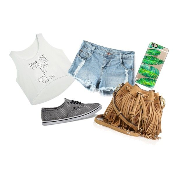 Wild Thing by camigy on Polyvore featuring polyvore, fashion, style, Vans, Rebecca Minkoff and Casetify