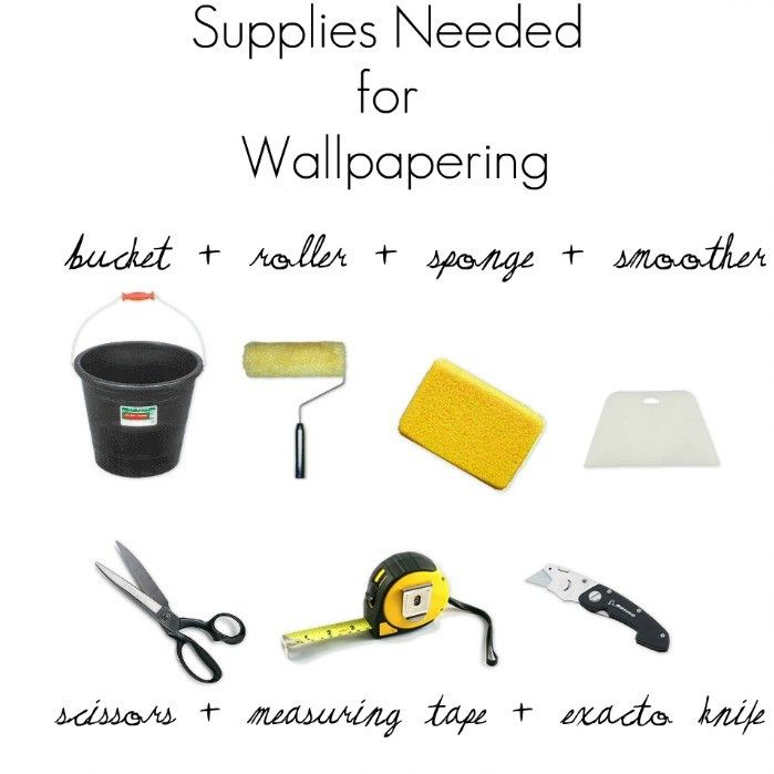 Hanging Wallpaper: You don't have to DIY perfectly to achieve gorgeous results.
