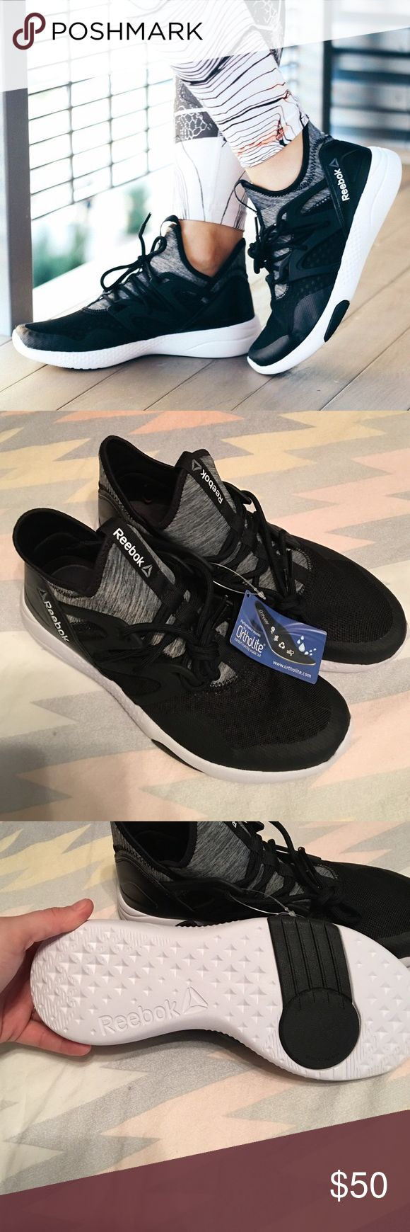 """Reebok Hayasu sneakers NWT Never work, tags still on reebok size 8 hayasu """"dance"""" sneakers. I have another pair that I wear and are the most comfortable sneakers I own. Reebok Shoes Athletic Shoes"""