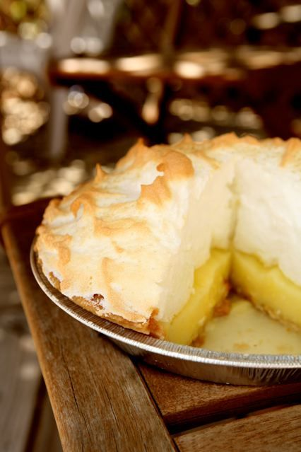 Easy Lemon Meringue Pie for an Easter celebration. Gather around the table together. GraceLaced Kitchen