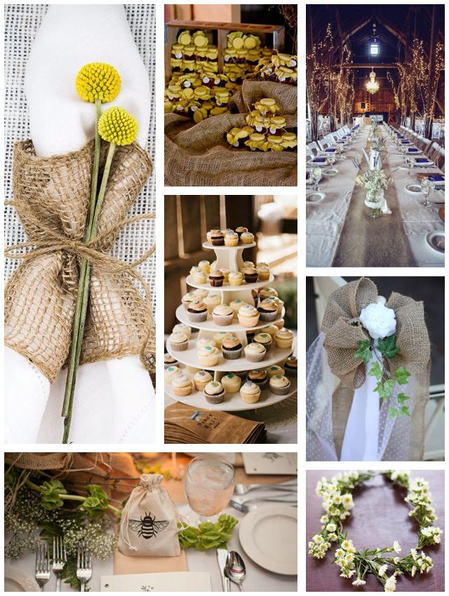 15 Cool Ideas for a Rustic Wedding - Mon Cheri Bridals