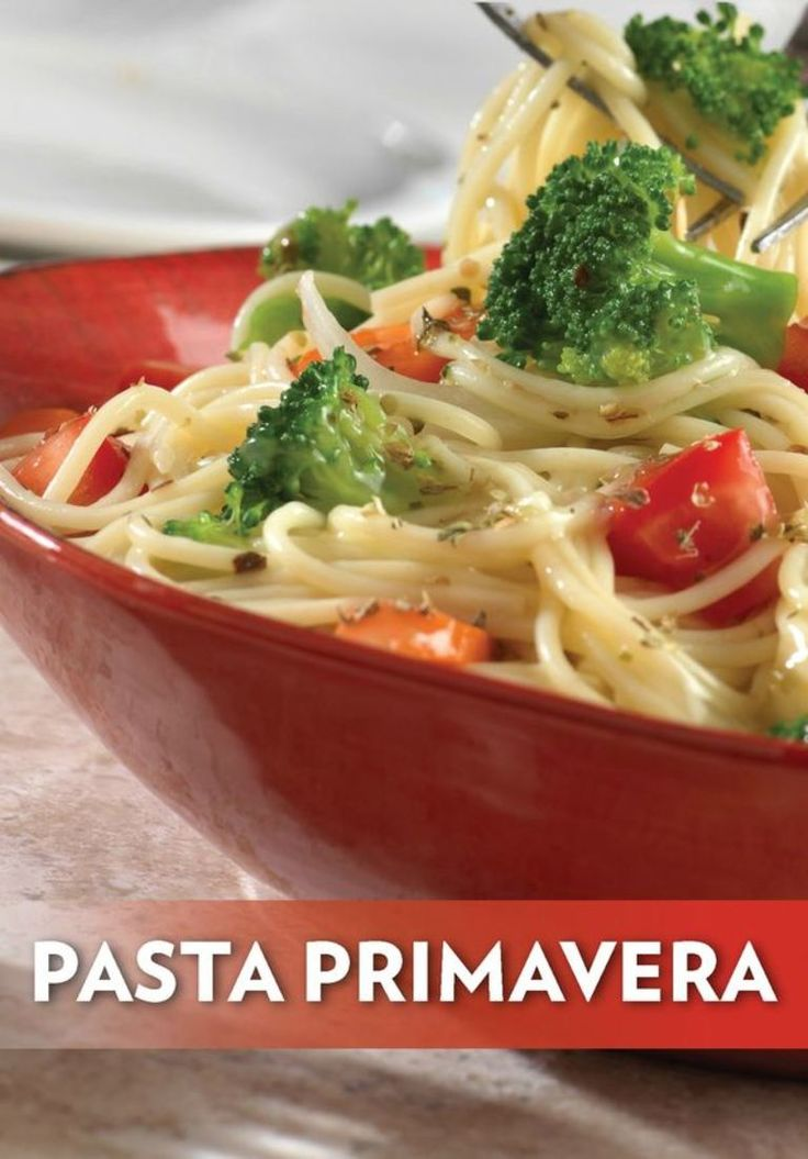 ... Pasta Recipes on Pinterest | Pasta, Spaghetti and Pasta primavera