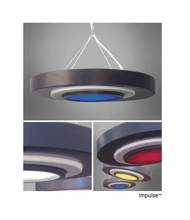 The impulse by impact architectural lighting a fluorescent and led pendant light fixture