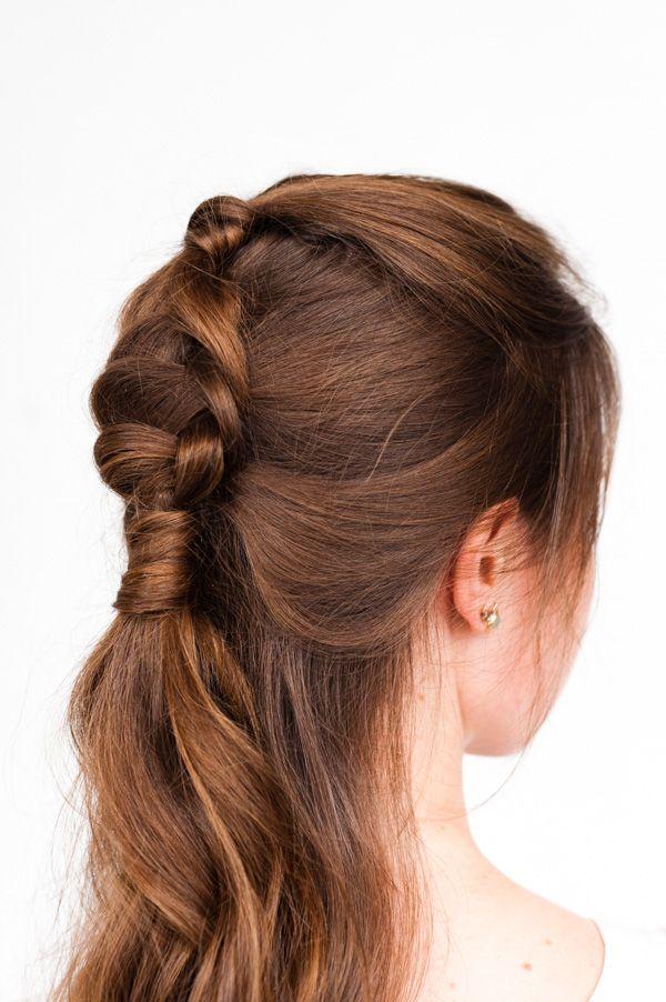 Pony Up: A Half Up Pony Braid Hair Tutorial