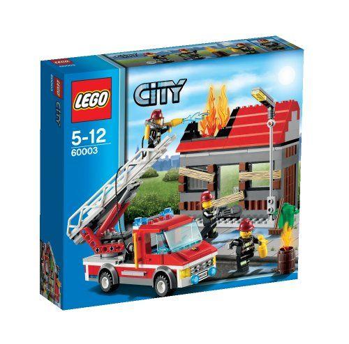 Lego City – 60003 – Jeu de Construction – L'intervention du Camion de Pompier   Your #1 Source for Toys and Games