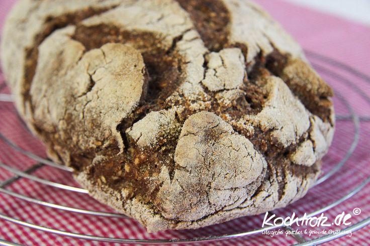 glutenfreies Kracherkrusten-Brot ohne Kneten – JETZT AUCH ALS VOLLKORN-VARIANTE