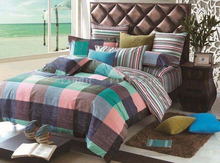 Everton Queen King Size Bed Duvet Doona Quilt Cover Set