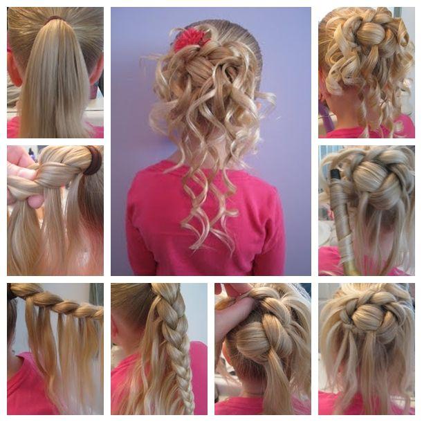 Wonderful Diy Feather Braided Bun Hairstyle Raeanns Hair Hair