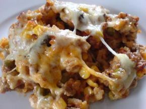 Chopped rice casserole   – Kochen und backen