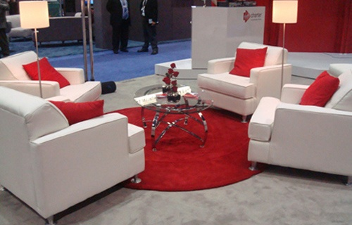 Trade Show Booth Lounge : Best images about afr event furnishings on pinterest