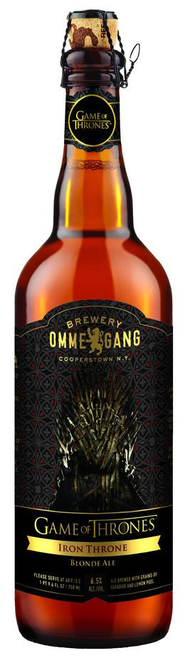 Refreshment Is Coming: Making Game Of Thrones Beer   Co.Create: Creativity \ Culture \ Commerce #gameofthrones #Beer