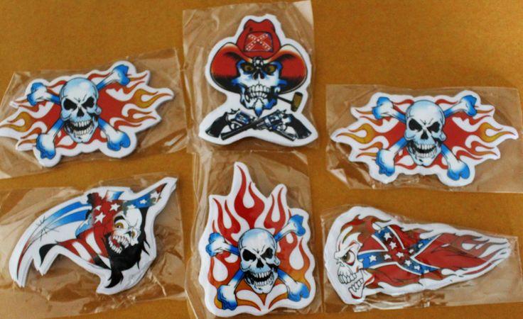 Skull+Head+Flames+Stickers+x+300, £29.99