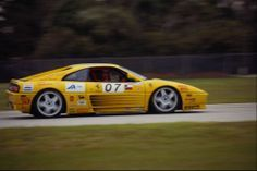 582076 Ferrari 348 in The Ferrari Challenge Sebring 1995 A1 Photo Print | eBay