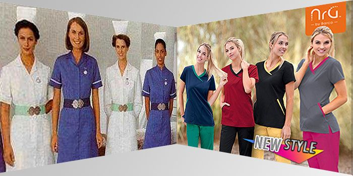 The Evolution of Nursing Uniforms Since 1950s #Nursing #Scrubs #History