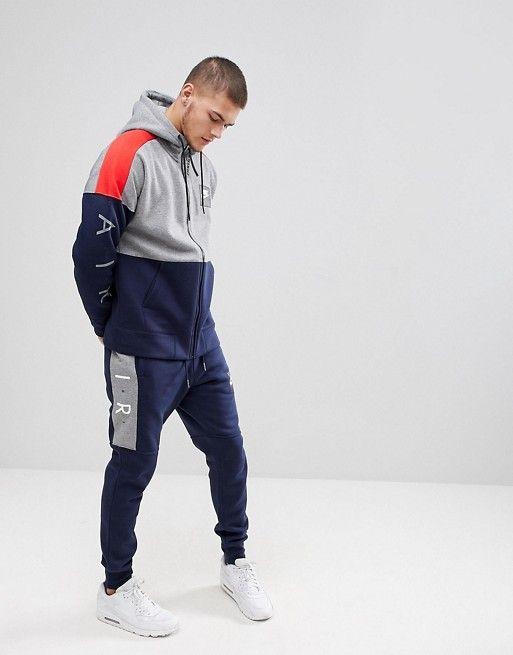 2e5befe7afa4 Nike Air Joggers In Skinny Fit In Navy 886048-452