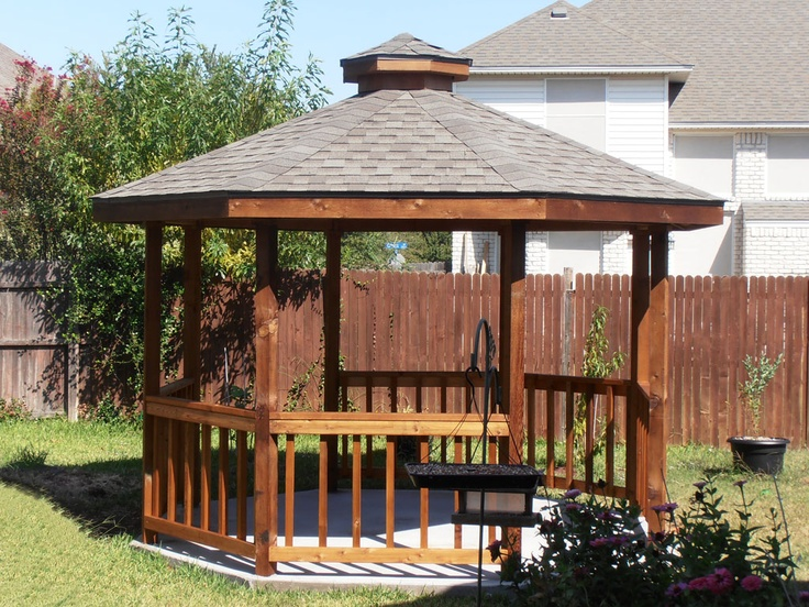17 best images about outside ideas on pinterest brick for 8 sided gazebo plans