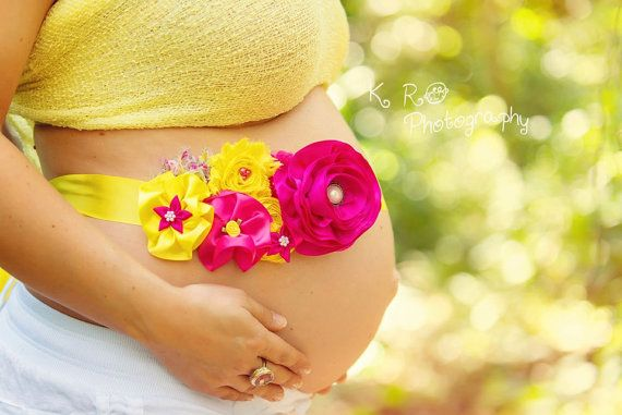 Maternity Belly band.... Women belly band...Spring colors belly band... Photo prop on Etsy, $20.00