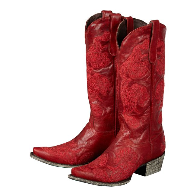 """""""California All The Way"""" by Lane Boots  Every girl should have a pair of red boots...they make you feel SASSY!!"""