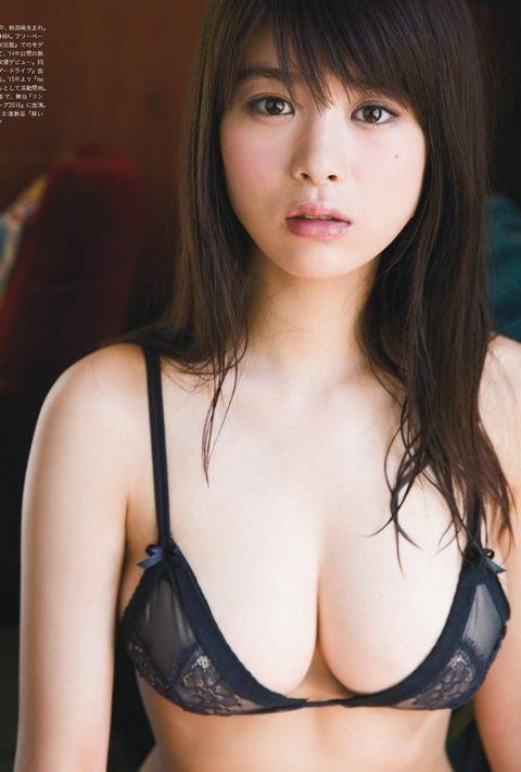 馬場ふみか、遂にノーブラバストを解禁!「乳房の膨らみ!」「特撮ヒロインがここまで・・・」 | 動ナビブログ ネオ