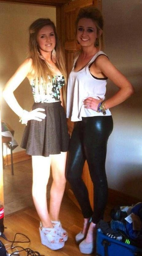 Sexy Teenager in Leggings Pornos