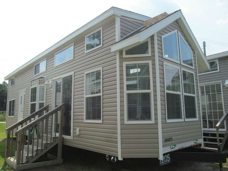 Park model mobile home financing