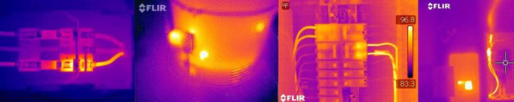 Thermal imaging can identify missing or collapsed insulation in wall cavities, ceiling and soffit areas causing energy loss. Lost energy is lost money.