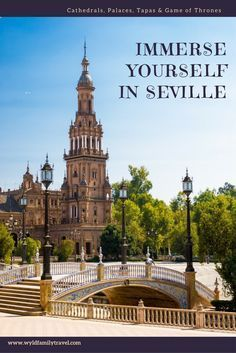 Immerse yourself in Seville Andalucia. We have all the Seville attractions covered for you. From Roman ruins, Cathedrals, Royal Palaces and game of thrones sights. Tips for accommodation and transport. . #Seville #Sevilla #VisitSeville #Andalusia #Italica #realalcazar #plazaespana #sevillebullring #giralda #spain #exploreeurope #winter #sevilleattraction . . Things to do in Seville | Things to see in Seville | Seville itinerary | Visiting Seville | What to do in Seville | S
