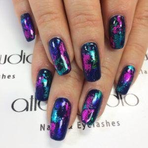 Blue Nails – ~*~ nails *~*