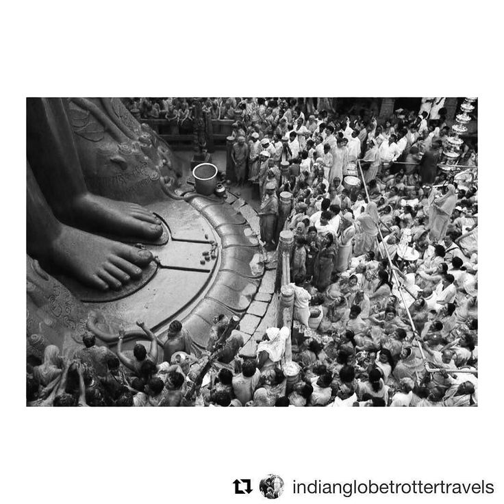 "#Repost @indianglobetrottertravels (@get_repost)  ""The things you take for granted someone else is praying for"" #quoteoftheday from #shravanabelagola in #karnataka.  #Shravanabelagola is located at a distance of around 160 Km from #Bangalore in #Hassan District and is famous for #Gomateshwara statue. It is also one of the very famous places for #Jain Pilgrims. The #Mahamastakabhisheka ceremony of the statue in Shravanabelagola - held every 12 years - will be performed in 2018 in the first…"