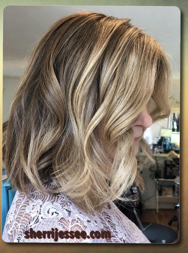 Blonde Natural Balayage Beautiful Hair Color Hair Blogger Balayage