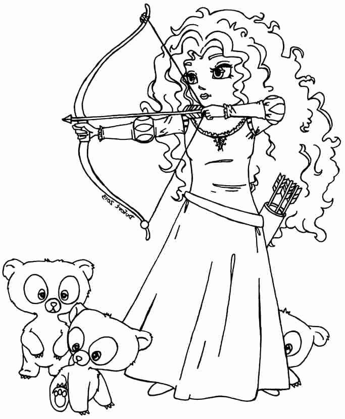 Disney Brave Coloring Page Beautiful 470 Best Images About Disney Princess Colouring Pages O In 2020 Disney Coloring Pages Chibi Coloring Pages Princess Coloring Pages